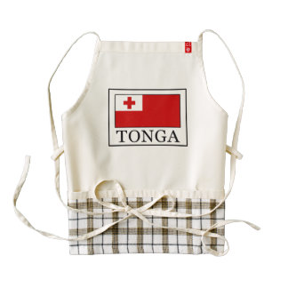 Tonga Zazzle HEART Apron