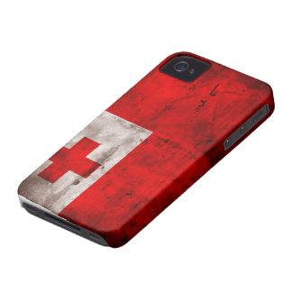 Tongan Flag Case-Mate iPhone 4 Case