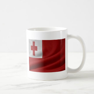 Tongan Flag Coffee Mugs
