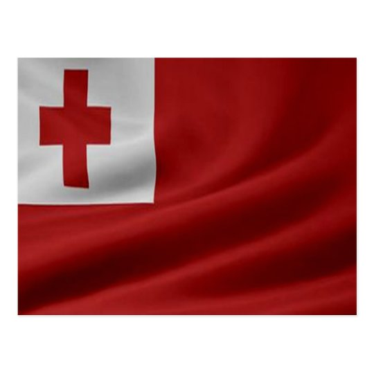 Tongan Flag Postcard