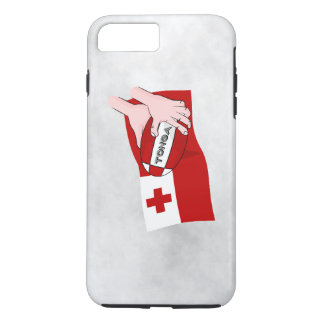 Tongan Flag Rugby Team Supporters iPhone 8 Plus/7 Plus Case