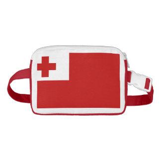 Tongan flag waist bag