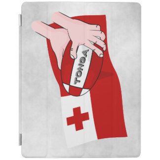 Tongan Flag with Rugby Ball iPad Smart Cover