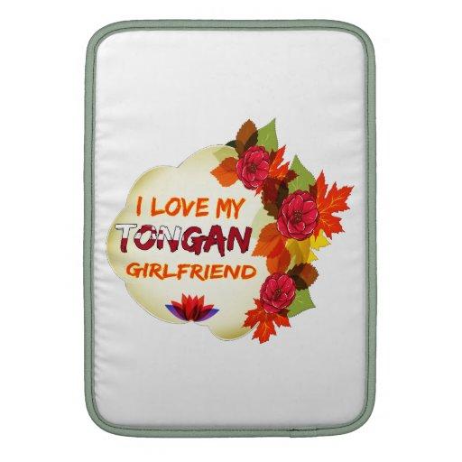 Tongan Girlfriend designs Sleeve For MacBook Air