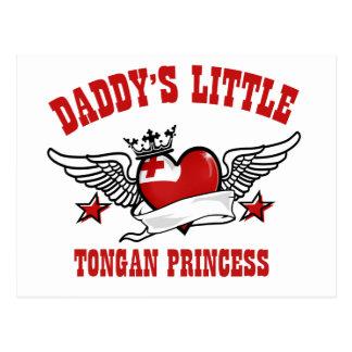 tongan princess designs postcard