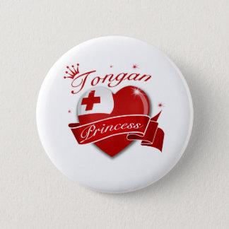 Tongan Princess Pinback Button