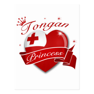 Tongan Princess Postcard