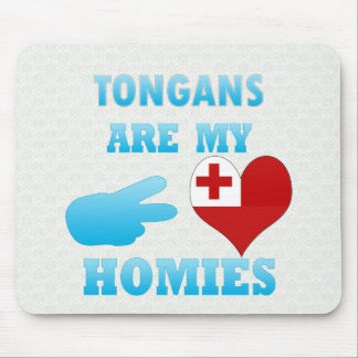 Tonganos son mi Homies Tapete De Ratón