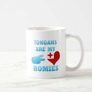 Tonganos son mi Homies Taza