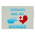 Tongans are my Homies Greeting Card