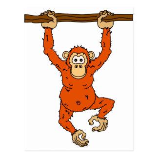 Tongo Chimp Postcard