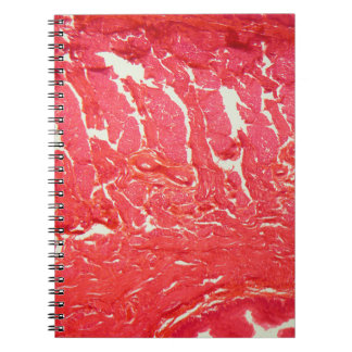 Tongue Cells under the Microscope Spiral Notebook