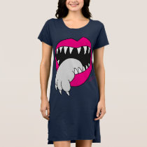 Tongue Got Your Cat Dress! by Jesse Lebon Dress