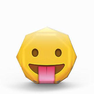 Tongue-Out Cheeky Emoji Award
