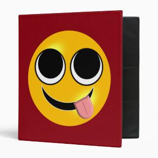 Tongue Out Emoji Binder