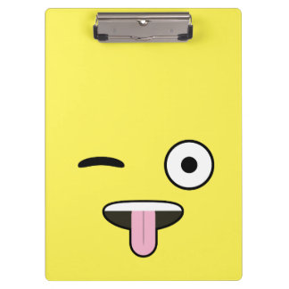 Tongue out Emoji Clipboard