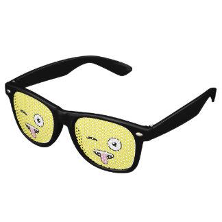 Tongue out Emoji Wayfarer Sunglasses