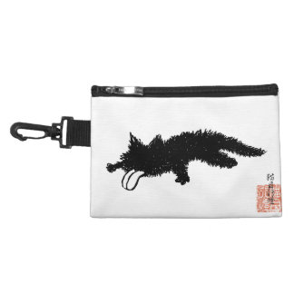 Tongue Out Kitten Accessory Bag