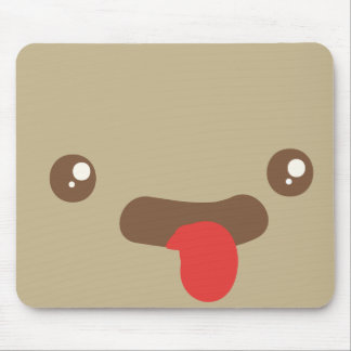 Tongue Out Mouse Pad