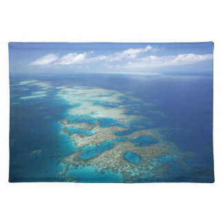 Tongue Reef, Great Barrier Reef Marine Park, Cloth Place Mat