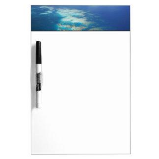 Tongue Reef, Great Barrier Reef Marine Park, Dry Erase Board