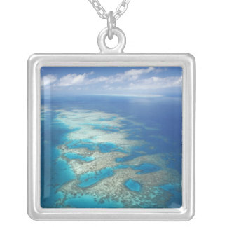 Tongue Reef, Great Barrier Reef Marine Park, Silver Plated Necklace