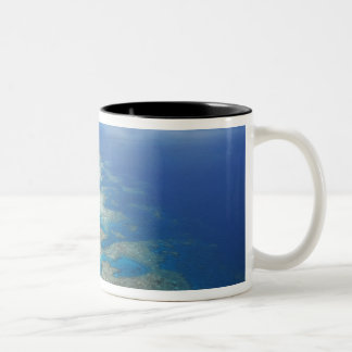 Tongue Reef, Great Barrier Reef Marine Park, Two-Tone Coffee Mug