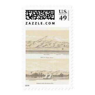 Tongue Shoal, Sacramento Stamps