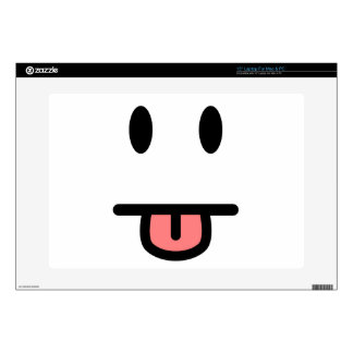 Tongue Sticking Out Face Skins For Laptops