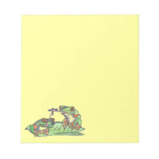 """"""" Tongue Tied Frogs """"...Notepad"""