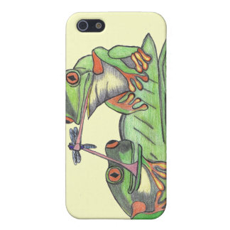 Tongue Tied Frogs...Speck Case