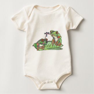 """"""" Tongue Tied Frogs """" T-Shirt"""