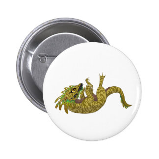 Tonguey Pinback Button