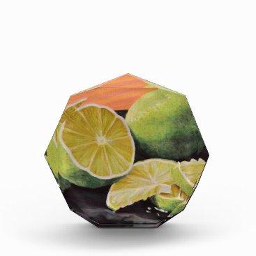 Beach Themed Tonic and Lime Acrylic Award
