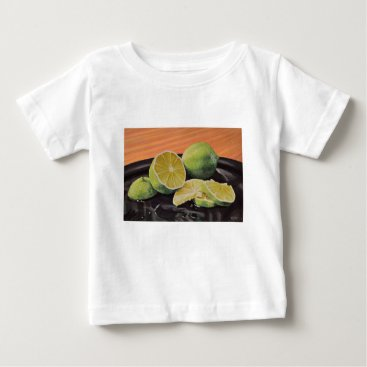 Beach Themed Tonic and Lime Baby T-Shirt