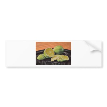 Beach Themed Tonic and Lime Bumper Sticker