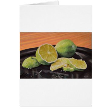 Beach Themed Tonic and Lime Card