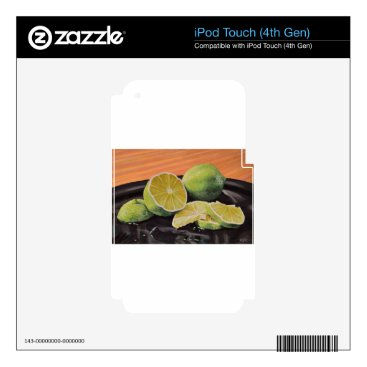 Beach Themed Tonic and Lime Decal For iPod Touch 4G
