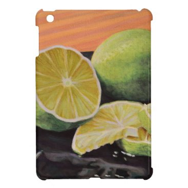 Beach Themed Tonic and Lime iPad Mini Cover