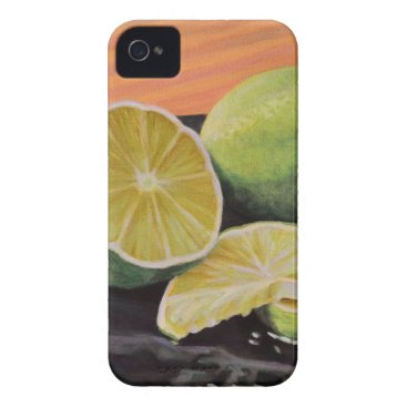 Beach Themed Tonic and Lime iPhone 4 Case