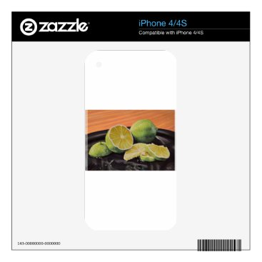 Beach Themed Tonic and Lime iPhone 4S Decal