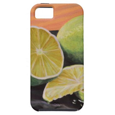 Beach Themed Tonic and Lime iPhone SE/5/5s Case