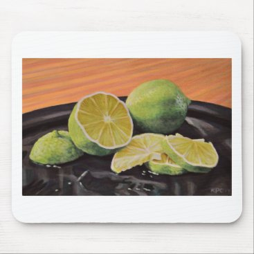 Beach Themed Tonic and Lime Mouse Pad