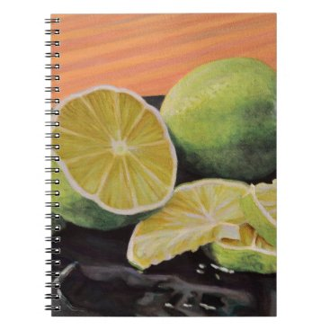 Beach Themed Tonic and Lime Notebook