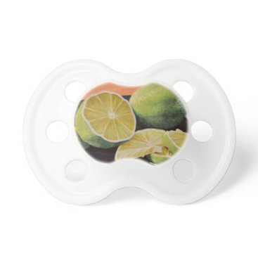 Beach Themed Tonic and Lime Pacifier