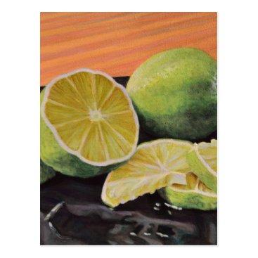 Beach Themed Tonic and Lime Postcard