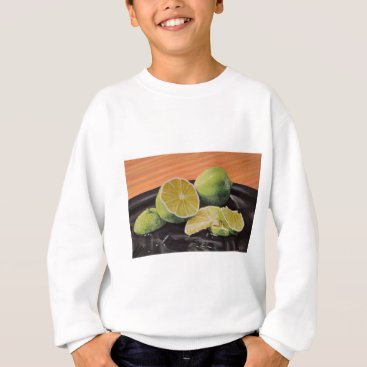 Beach Themed Tonic and Lime Sweatshirt