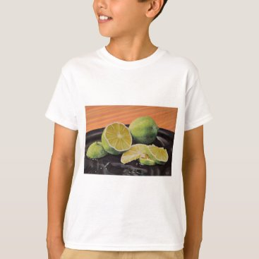 Beach Themed Tonic and Lime T-Shirt