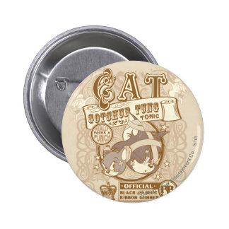 Tónico de Gotchur Tung del gato de Tom Pin Redondo 5 Cm