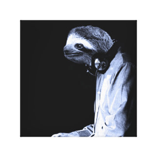 Tonight a Sloth saved my life Canvas Print